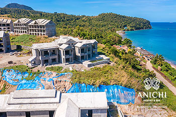 March 2021 Construction Update of Anichi Resort & Spa: Building 3