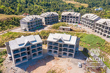 March 2021 Construction Update of Anichi Resort & Spa: Buildings 1 and 2
