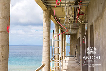 March 2021 Construction Update of Anichi Resort & Spa: Caribbean Sea View
