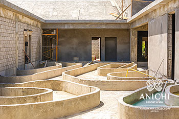May 2021 Construction Update of Anichi Resort & Spa: Building D
