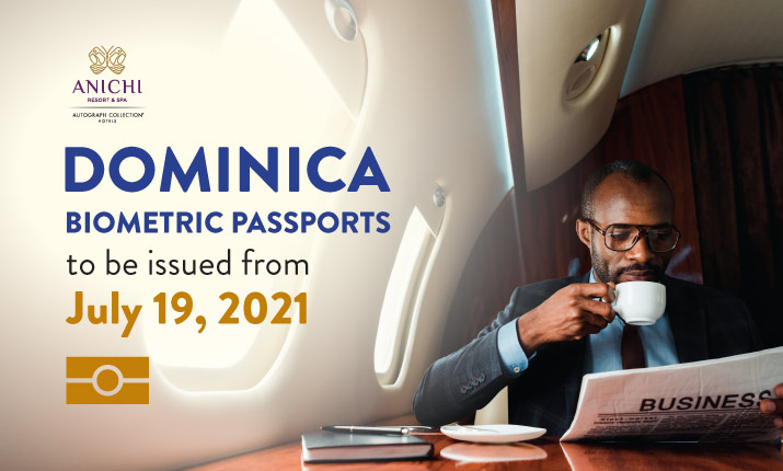 Dominica Biometric Passports to be issued from July 19, 2021