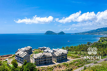 June 2021 Construction Update of Anichi Resort & Spa: North View of the Construction Site