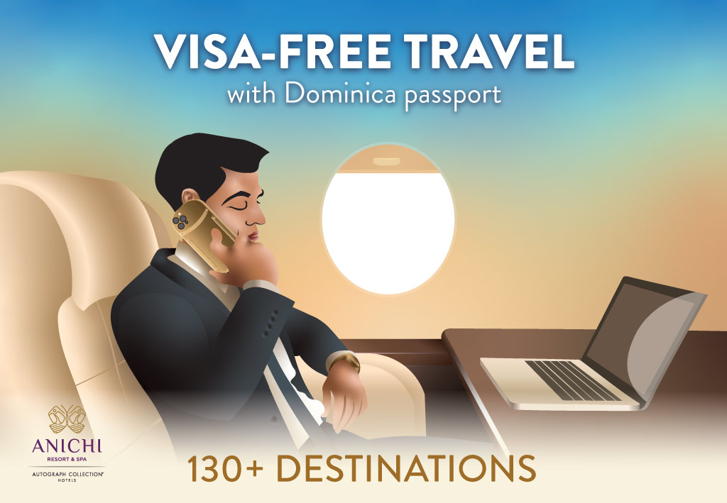 Visa-free travel with a Dominica passport