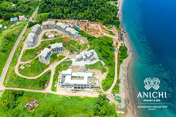 August 2021 Construction Update of Anichi Resort & Spa: Construction Site
