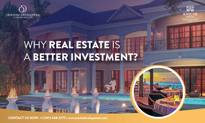 Dominica Citizenship by Investment: Why Real Estate is a Better Investment?