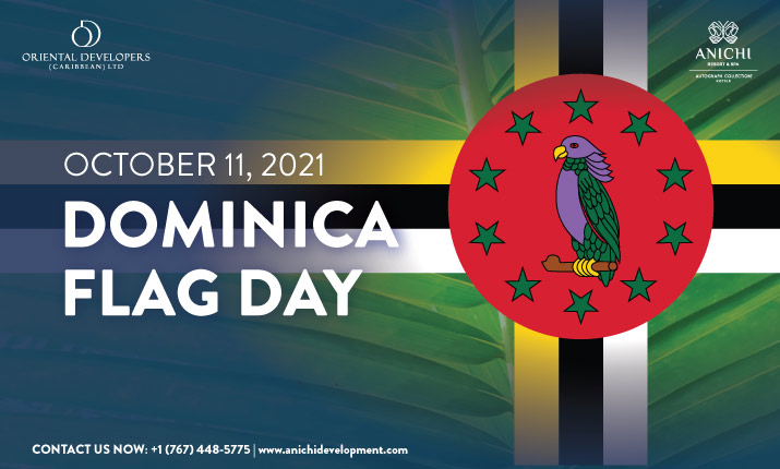 Dominica Flag - Proudest National Symbol of the Commonwealth of Dominica